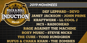 For your consideration – the 2019 Rock & Roll Hall of Fame talent pool…