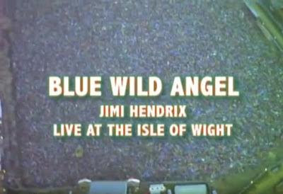 A screen image from the film trailer depicts an aerial view of the 600,000 people gathered in the summer of 1970.
