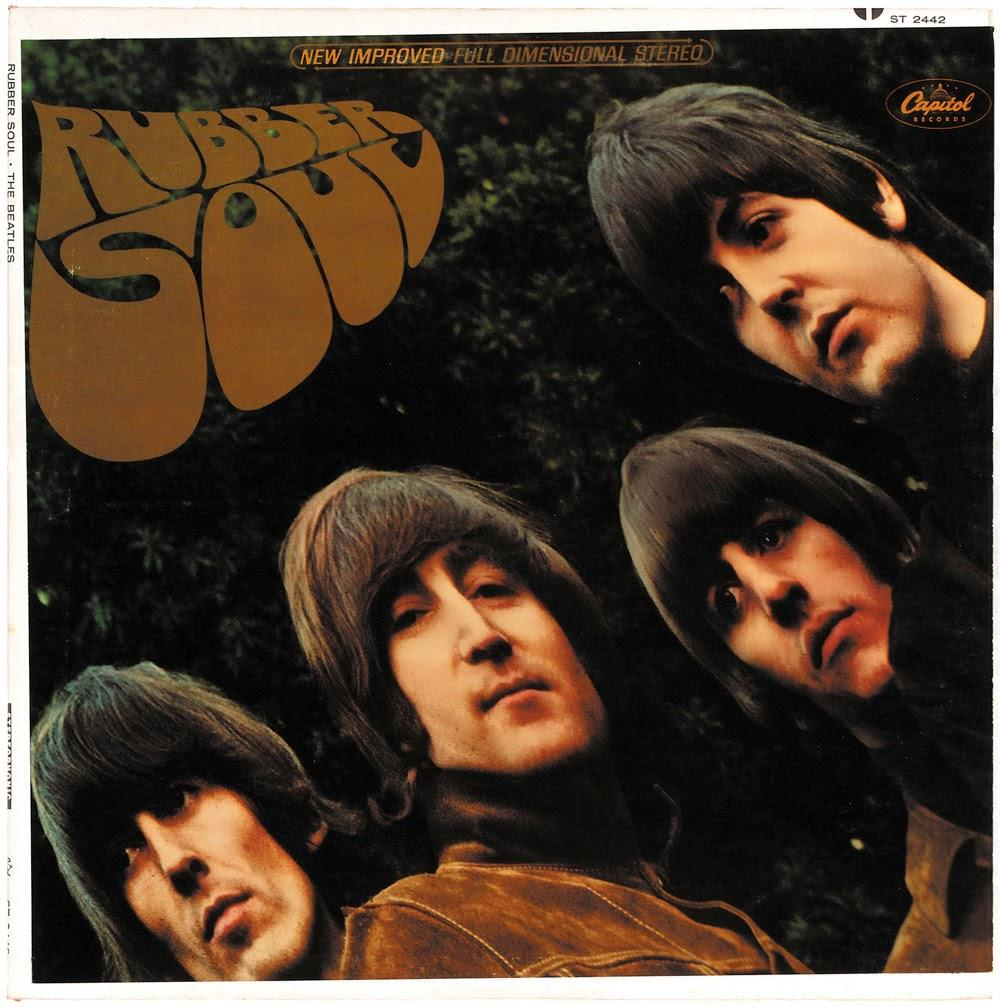 Rubber Soul cover, US stereo edition.