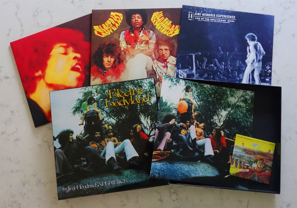 "The vinyl variation of the 50th anniversary ""Electric Ladyland"" box set"