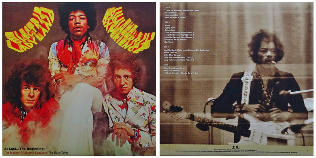 "The cover of the demos and outtakes portion of the 50th anniversary ""Electric Ladyland"" box set"
