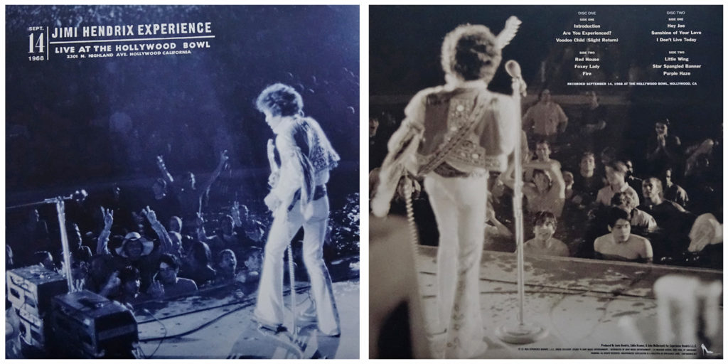 """The """"Live at the Hollywood Bowl"""" cover"""