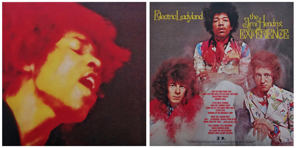 "The familiar United States front and rear covers of ""Electric Ladyland"""