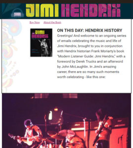 """On This Day: Hendrix History"""