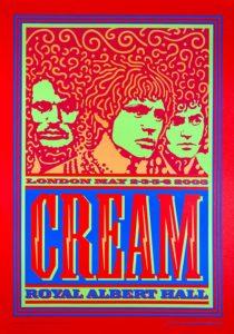 John van Hamersveld poster, Royal Albert Hall 2005.