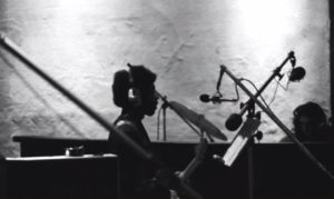Jimi Hendrix and Mitch Mitchell record at Electric Lady Studios, 50 years ago.