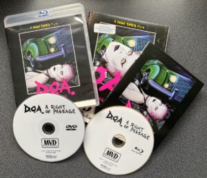 Double Disc Packaging of D.O.A.: A Right of Passage