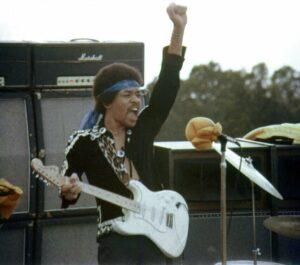 Jimi Hendrix in Magnificent Musical Flight