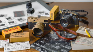 The tools of Jim Marshall's trade.