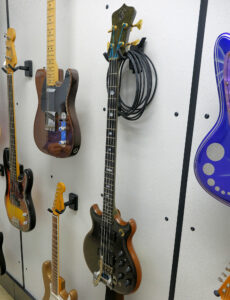 John Entwistle Alembic Bass with Bigsby Reverse